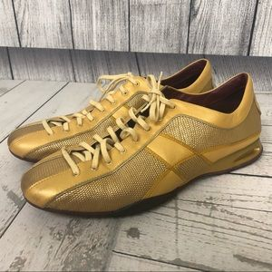 Cole Haan Nike Air Gold Running Shoes Size 10.5 B